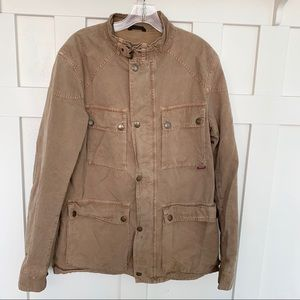 Belstaff Roadmaster Tan Utility Jacket